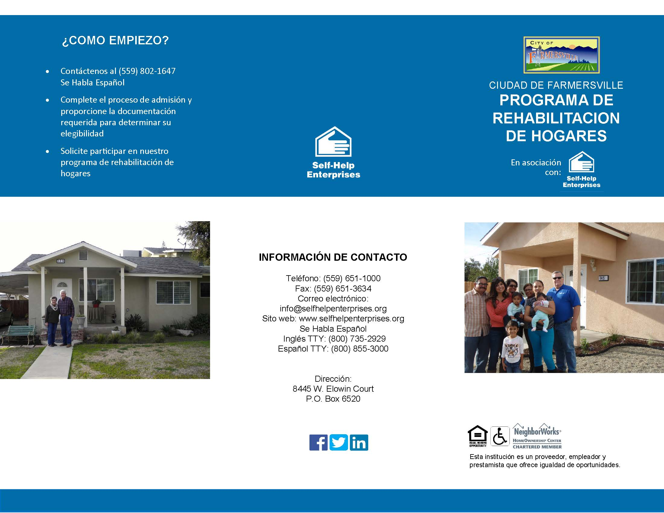 _2019 Farmersville RE Brochure (Spanish)